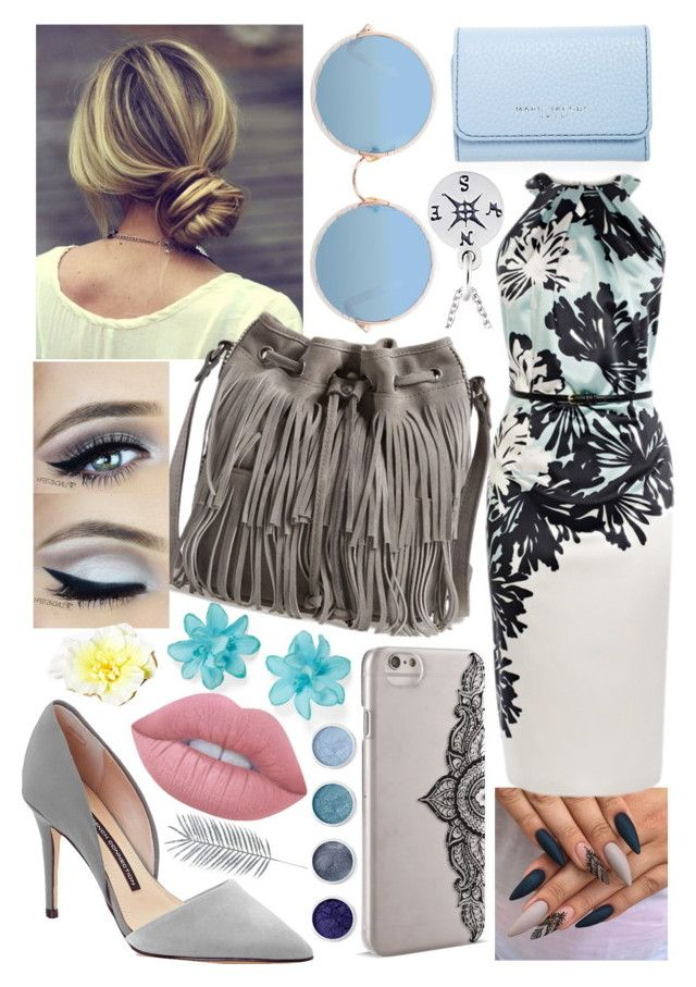 """Where to?"" by blom-sofie on Polyvore featuring Marc Jacobs, French Connection, Carole, Patricia Nash, Sunday Somewhere, Nanette Lepore, Lime Crime, Terre Mère and ASOS"