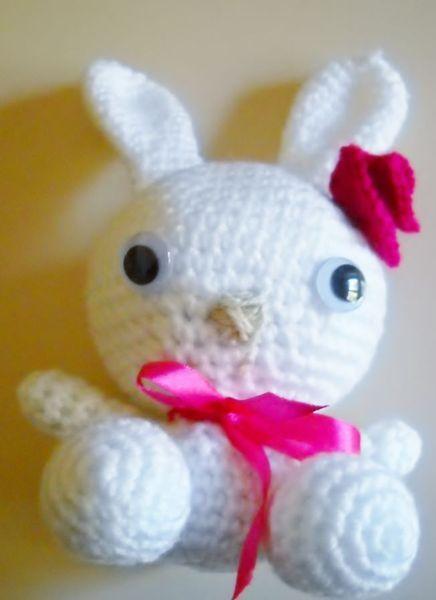 Coniglietta Amigurumi di Le Creazioni di Manola su DaWanda.com