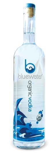Bluewater Organic Vodka Distilled in small batches utilizing a classic copper kettle, Bluewater Organic Vodka achieves a level of quality that the major brands can't match. With our hand-hammered kettles, Bluewater specializes in collecting only the heart of the run. Our distillate is married with pure Cascade water and we bottle with no additives and minimal filtration.