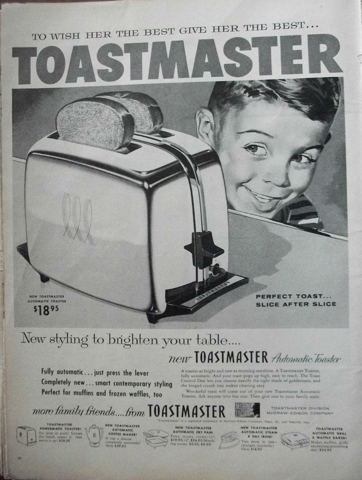 148 Best Images About Vintage Toastmaster From Mcgraw