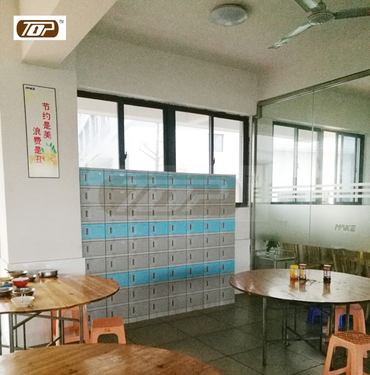 Our plastic locker, use ABS engineering plastics, is not afraid of water, strong and durable, in the staff canteen very well www.toplockers.com #lockers