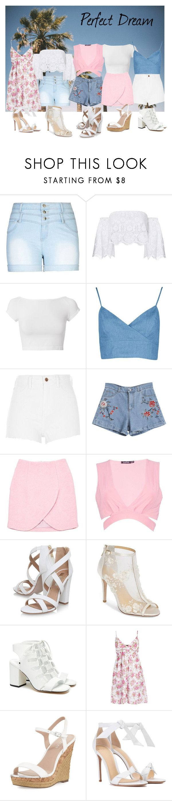 """""""Set 117"""" by jen28pup on Polyvore featuring City Chic, Miguelina, Helmut Lang, River Island, Carven, Boohoo, Miss KG, Bella Belle, Senso and Charles by Charles David"""