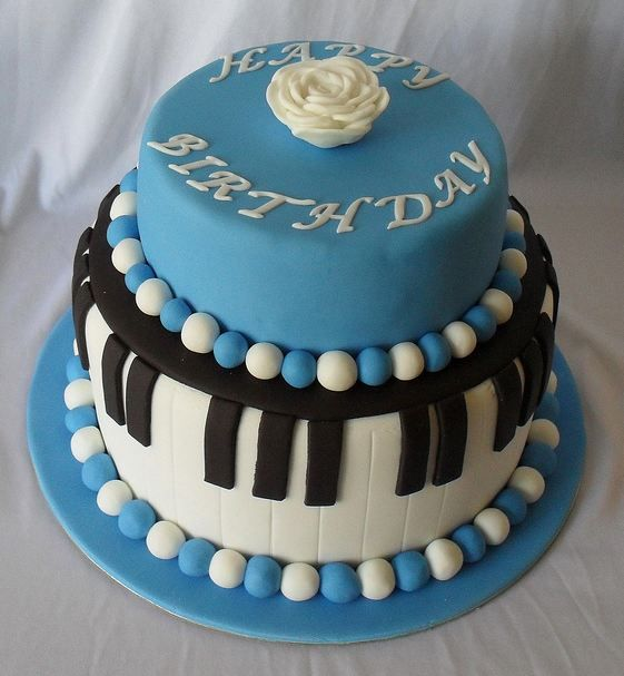Google Image Result for http://www.cakepicturegallery.com/d/35912-1/Two%2Btier%2Bpiano%2Btheme%2Bbirthday%2Bcake%2Bwith%2Bblue%2Band%2Bwhite%2Bbeads.JPG
