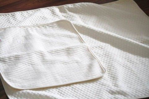 Organic Bamboo Mattress Protector and Change Mat from Lil Helper