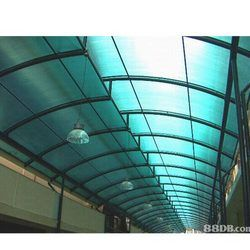 Polycarbonate and Galvalume Roofing
