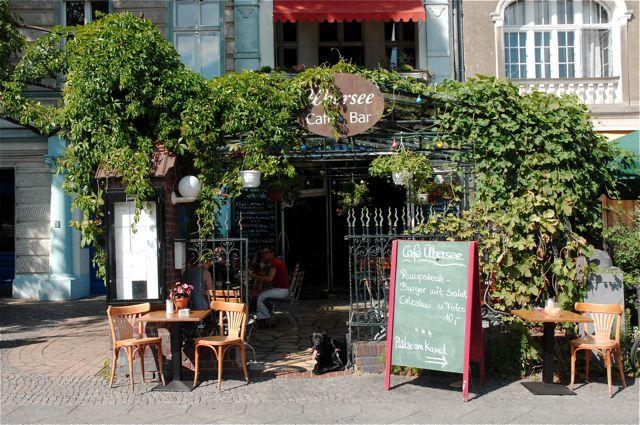 Café Übersee | inspirierendes Restaurant-Café am Paul-Lincke Ufer BERLIN - Kreuzberg