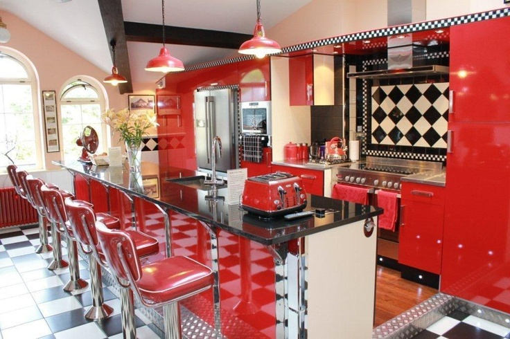 My very own american diner | Interiors: American 50's Diner Kitchens |  Pinterest | Diners, Feelings and Kitchens
