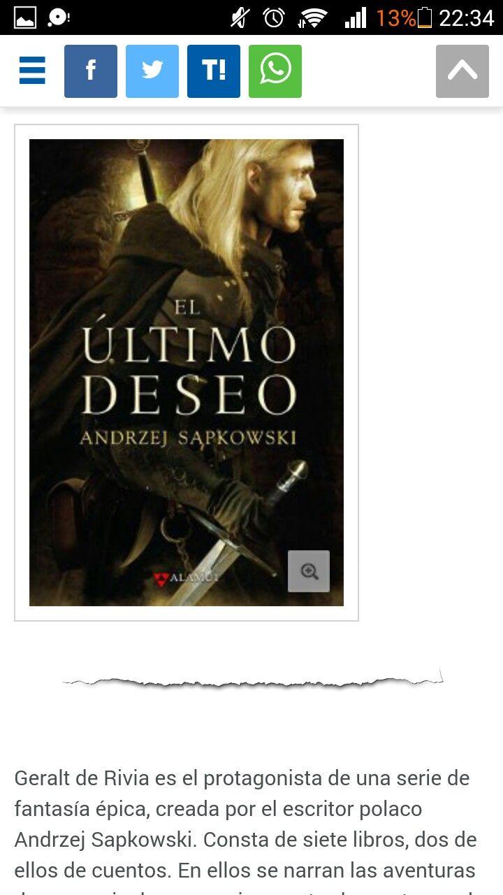 El ultimo desel Andrzej Sapkowski