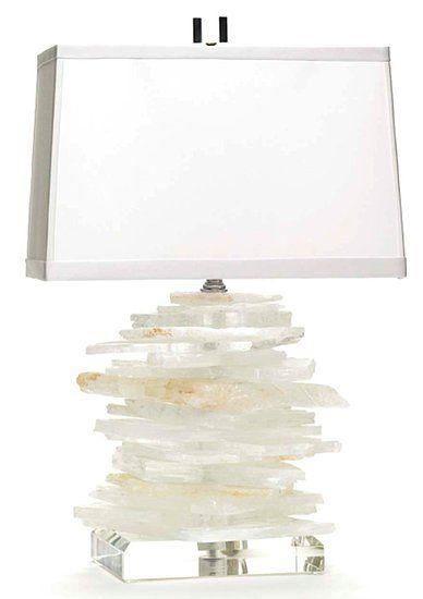 Brenda Houston Gallery Photo 2. Stacked quartz lamp. Desk lamp. #anthropologie #pintowin