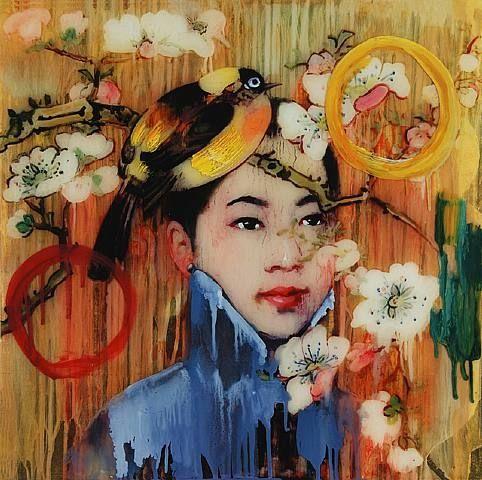 art statments hong kog | Hot Summer Drinks with Hung Liu at 10 Chancery Lane Gallery