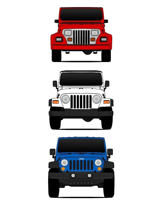 Jeep Wrangler Patriotic Poster Print Wall Art Of The History And