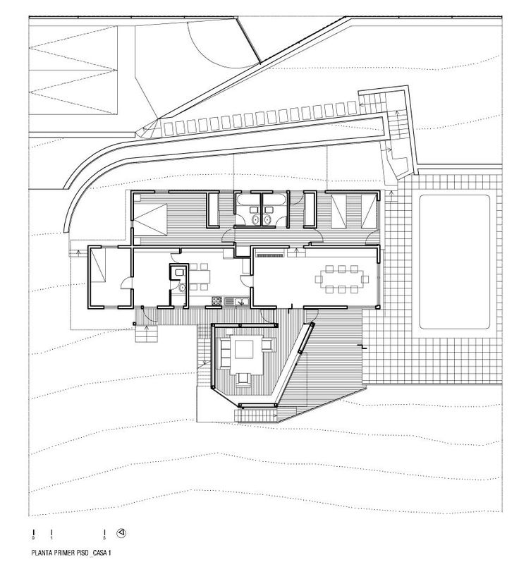 Casa en el Cerro Pochoco - Carreño Sartori Arquitectos - Tecno Haus