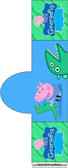 Peppa George Pig Party Printables Kit