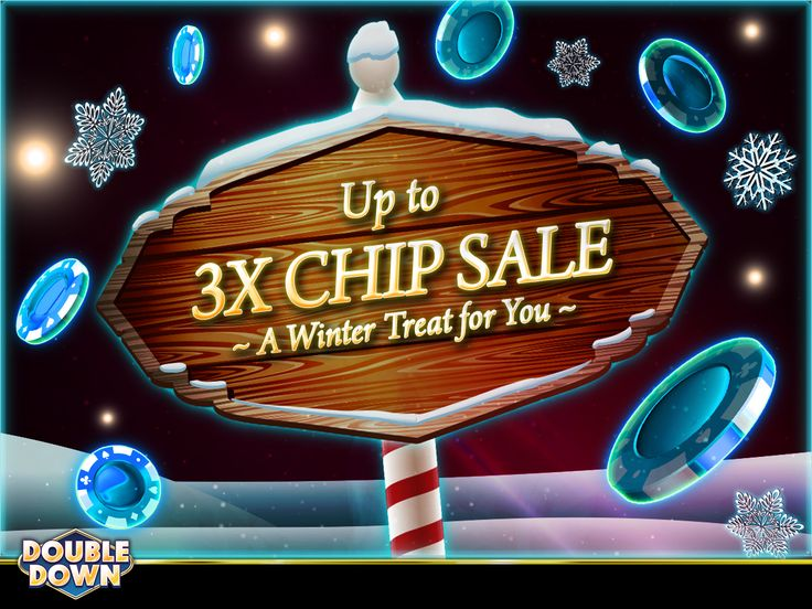 (EXPIRED) Stay in and play DoubleDown Casino - chips are on sale today! And for 150,000 FREE chips, just tap the Pinned Link (or use code XZNKHJ)