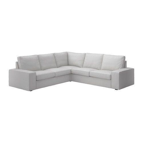 Ikea Sectional, 4-seat corner, Orrsta light gray 14202.202929.210