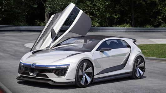 Golf GTE Sport peels back the curtain on VW's performance future  The car's gullwing doors are very similar to those on the XL1