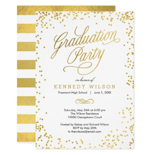 137 best elegant graduation invitations images on
