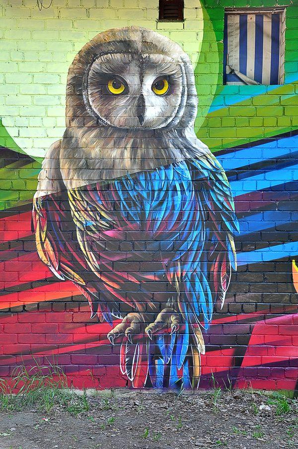 Owl by un2one Pinned by www.myowlbarn.com
