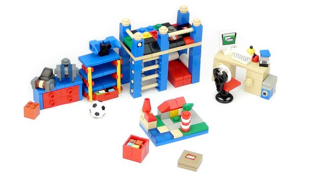 Minifig Furniture Child S Room Toys Pinterest