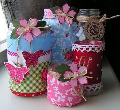DIY: Glazen potjes versieren - Patries.nu