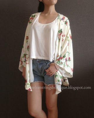 Floral Kimono Cardigan RM54