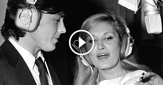 Ален Делон и Далида «Paroles, paroles». Неподражаемый дуэт