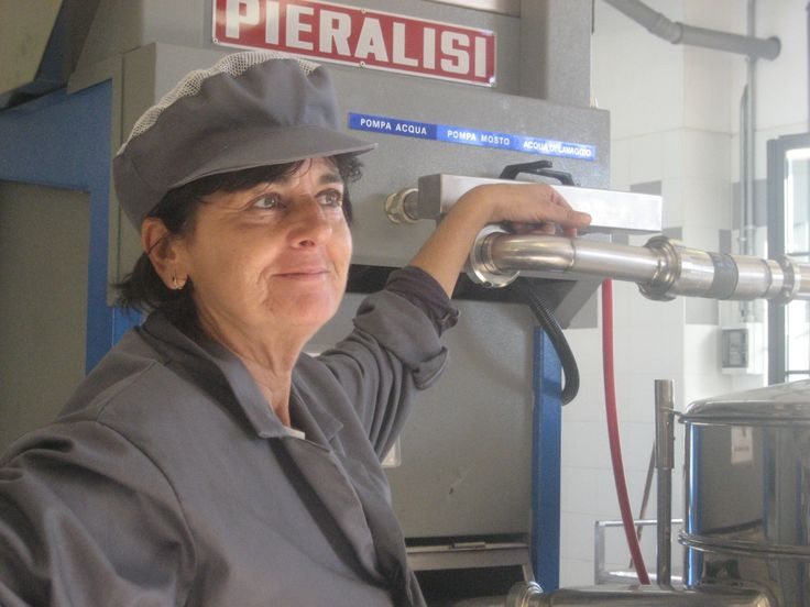 Worker at Frantoio (Olive Press), Tuscany