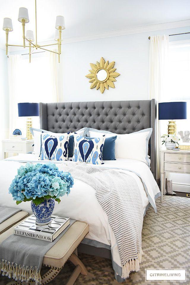Spring Master Bedroom Decorating Tips Citrineliving Master Bedrooms Decor Bedroom Decorating Tips Bedroom Decor