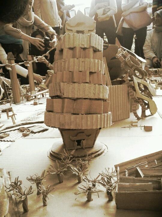 Cupcake pagoda