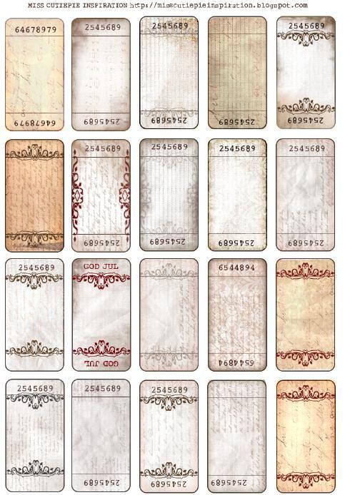 Лучших изображений на тему «Crafts Cardboard and Other Paper в - free ticket maker template