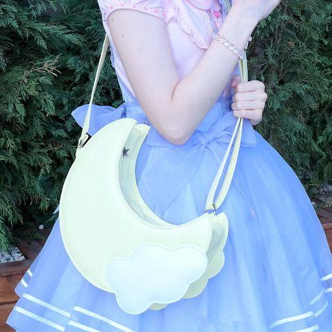 Japanese kawaii moon bag from Asian Cute {Kawaii Clothing}