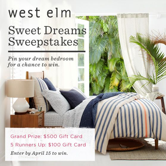 Enter to win here: http://sweeps.pinfluencer.com/sweetdreams