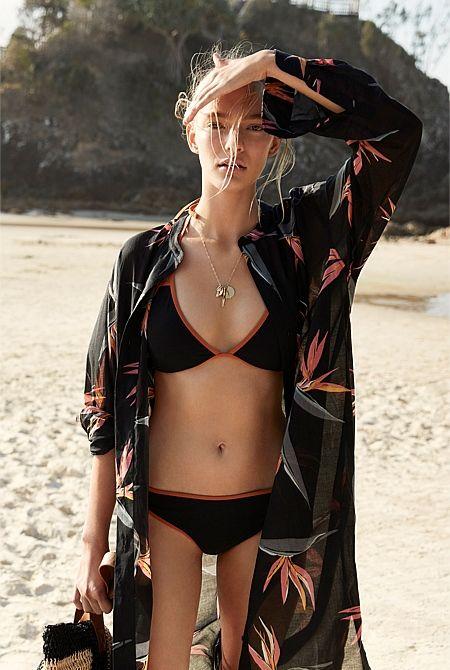 Country Road Bind Trim Bikini