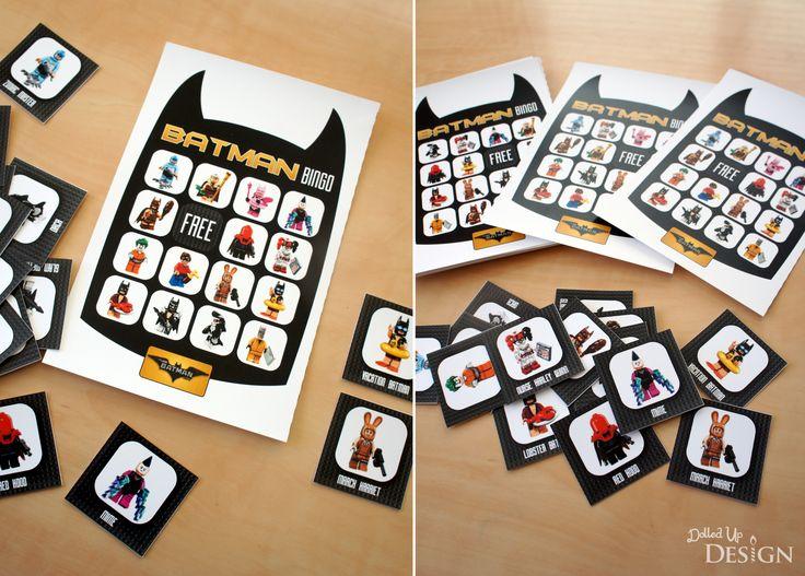 The Lego Batman Movie_Birthday Party Planning_BINGO Game