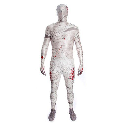 """Kids Mummy Morphsuits Childs Fancy Dress Costume Medium 3""""11 - 4""""5 (120cm - 135cm) -- You can get additional details at the image link."""