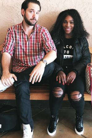 Adorable Love - 4 Sweet Photos Of Serena Williams and Fiancé Alexis Ohanian