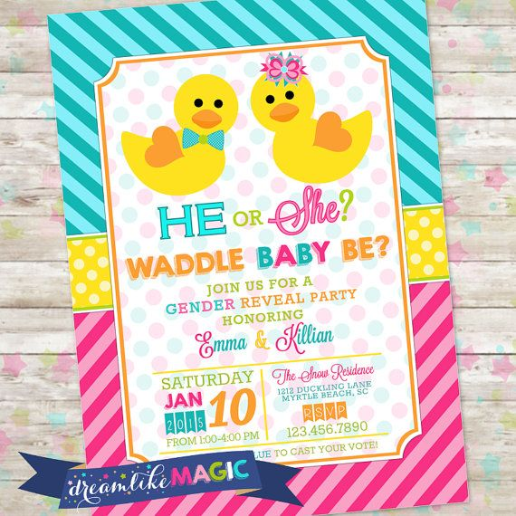 26 best images about Gender Reveal Invites on Pinterest | Bumble bees, Bee gender reveal and ...