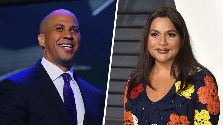 Sen. Cory Booker and Mindy Kaling may have just made a love connection on Twitter