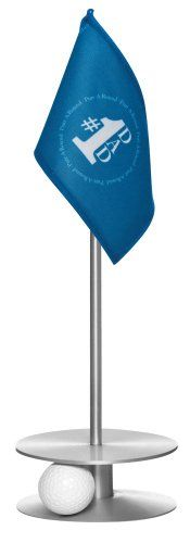 Golf Games Collection | Anne Stone Golf PuttARound Dad Flag 1 Putting Aid Silver Small * More info could be found at the image url. Note:It is Affiliate Link to Amazon.