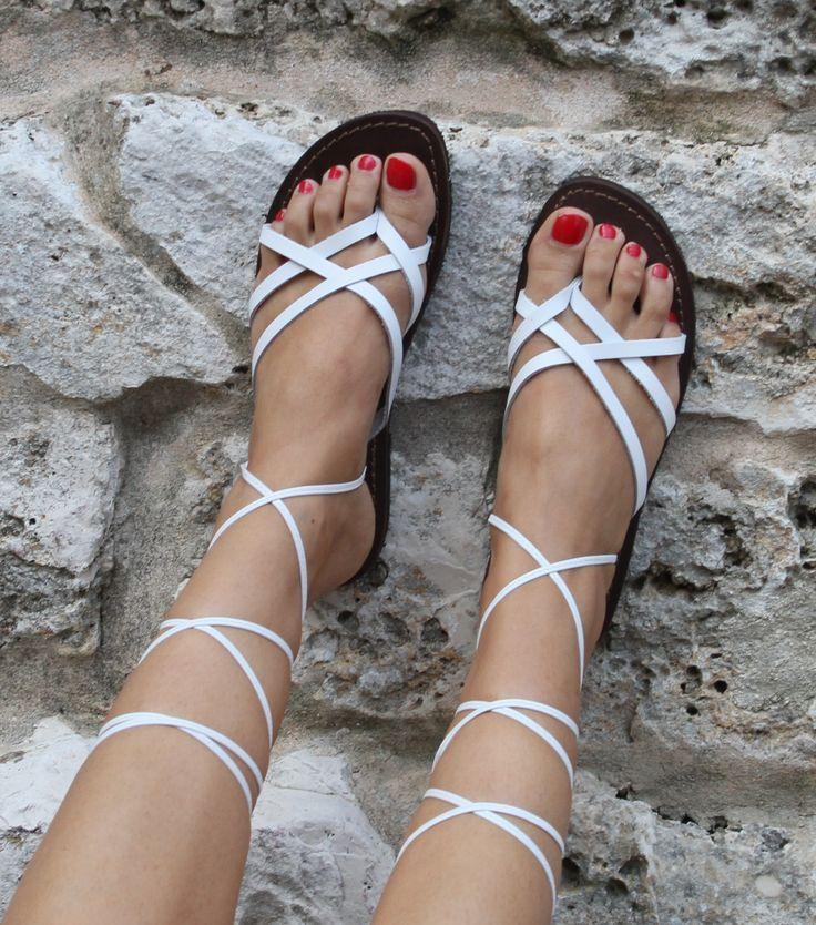 Laced Sandals :-) | Sandals | Pinterest