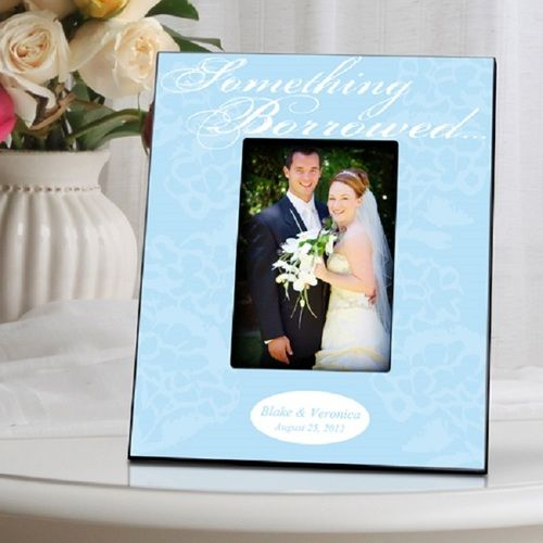 Something Blue Picture Frame