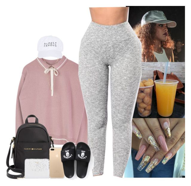 """I'm so tired."" by mxnvt ❤ liked on Polyvore featuring Wet Seal, Nasaseasons, Tommy Hilfiger and DKNY"