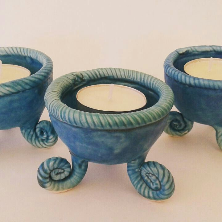 Pinch pots made by Frank Hakkaart ❤