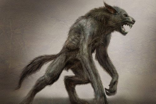 The Werewolf - Human by day, freak animal killing machine by full moon; In the beginning, the power to change into a wolf was a gift from the Great Spirit; but the gift was abused, used for evil; And so the gift became a curse - the spirit of the wolf became uncontrollable and bloodthirsty.