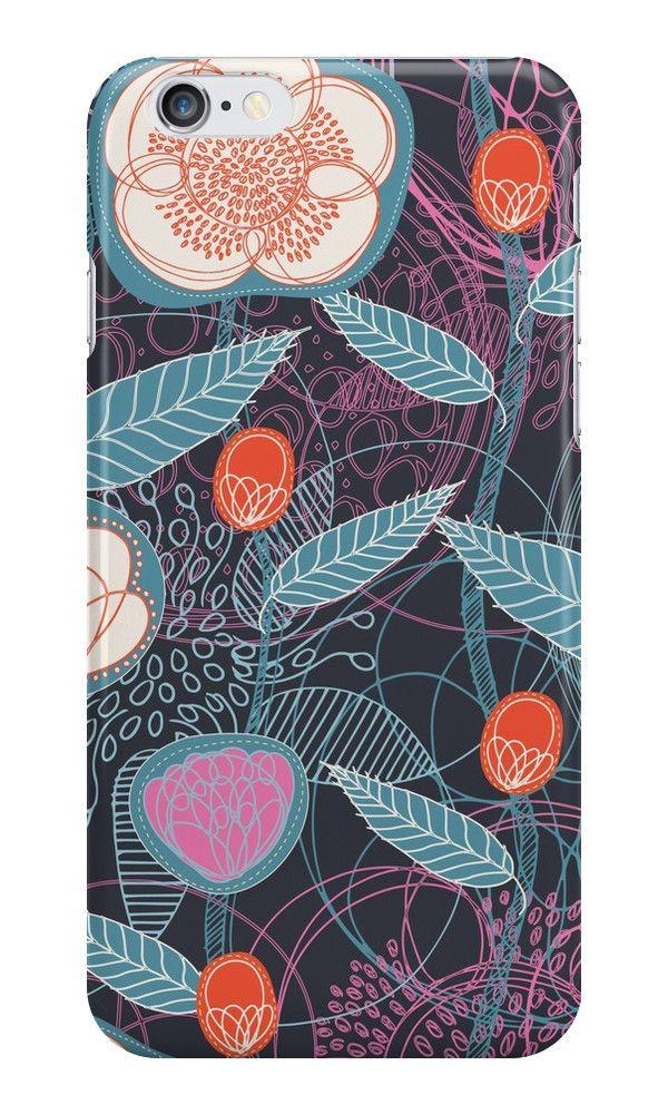 """Magic Flowers"" Casi iPhone & Skins per SerenaBellini   RedBubble"