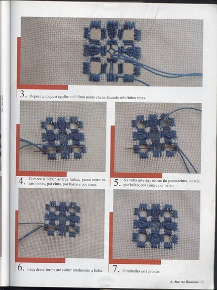 Images about hardanger embroidery tutorials on