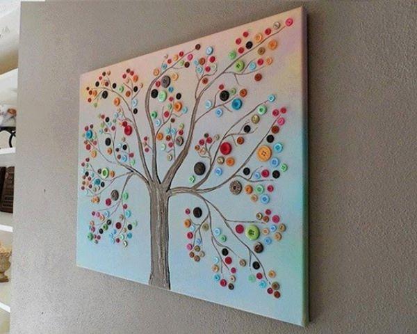 cute button tree