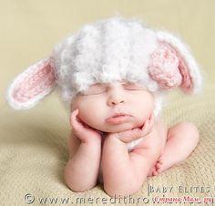 Шапочка для овечки