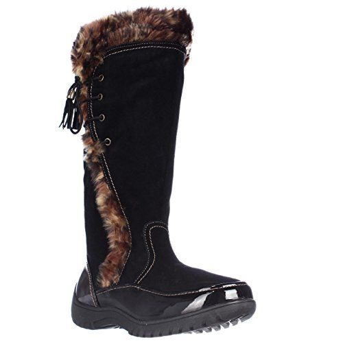 Sporto Side Winder Waterproof Cold Weather Boots  Black Leopard 6 M US >>> Details can be found by clicking on the image.
