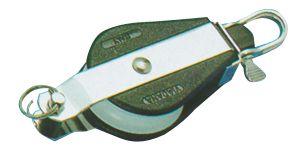 En oferta Polea Viadana simple con Grillete y arraigo cabo 10 mm
